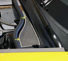 American Car Craft 2008-2013 Chevrolet Corvette Wiper Cowl Perforated 2pc 043058