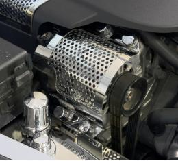 American Car Craft 2015-2019 Chevrolet Corvette Alternator Cover Perforated ZR1 043068