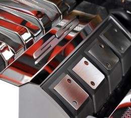 """American Car Craft 2008-2019 Chevrolet Corvette Fuel Rail Covers Polished """"SS"""" 103014"""