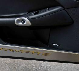 American Car Craft Chevrolet Corvette 2005-2013  Grille Polished Retro Style Front C6 042038