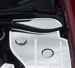 American Car Craft Chevrolet Corvette 1997-2004  Inner Fender Cover Extender Polished Driver Side Only 033022