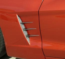 American Car Craft 2005-2013 Chevrolet Corvette Vent Spears w/Perforated Vents 8pc C6 042047