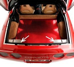 American Car Craft Hatch Catch Plate Satin 2pc 031040