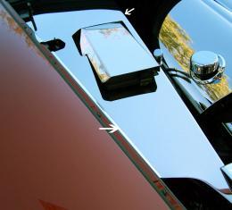 American Car Craft Chevrolet Corvette 2005-2013  Inner Fender Covers Polished 4pc C6 043017