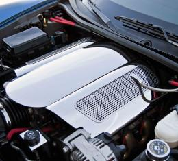 American Car Craft Chevrolet Corvette 2006-2013  Plenum Cover Polished Low Prof ONLY w/043086, 043087, 043088 043089