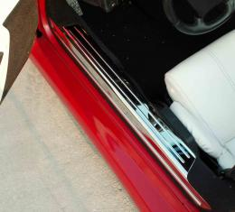 American Car Craft Chevrolet Corvette 1988-1996  Doorsills Polished 2pc 021001