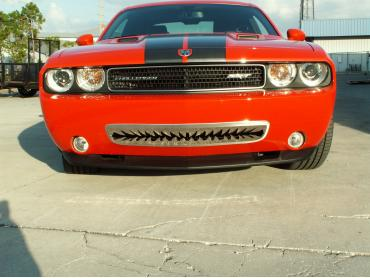 """American Car Craft 2005-2013 Chevrolet Corvette Grille Polished """"Shark Tooth"""" Lower Front 152010"""