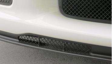 American Car Craft 2005-2013 Chevrolet Corvette Air Dam Grilles Laser Mesh Z06 Black Powder Coat Stealth 042100
