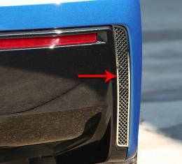 American Car Craft Chevrolet Corvette 2014-2018  Rear Valance Vents Laser Mesh 2pc 052003