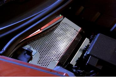 American Car Craft Battery Cover Perforated 08-13 043061