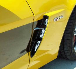 American Car Craft 2005-2013 Chevrolet Corvette Vent Spears w/Perforated Front Vents 6pc Z06 042051