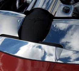 American Car Craft Chevrolet Corvette 2005-2008  Radiator Cover Polished 05-07 043034
