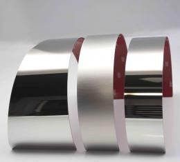 American Car Craft Brake Booster Cover Polished/Satin 3pc 053058