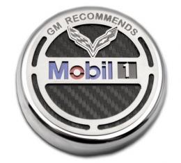American Car Craft 2014-2019 Chevrolet Corvette GM Recommends Mobil 1 Oil Cap 053097