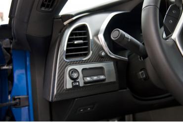 American Car Craft Chevrolet Corvette 2014-2018  A/C Vent Trim 2pc 051014