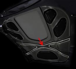 American Car Craft Center Hood X Frame Brace Polished ZR1 043065