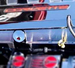 American Car Craft 2008-2019 Chevrolet Corvette Lower Fuel Rail Covers Satin Oil Fill Version 053054