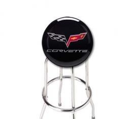 Corvette Bar Stool, With C6 Logo