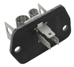 Corvette Air Conditioning Blower Motor Resistor, 1968