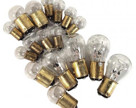 Corvette Light Bulb Kit, 18 Piece, 1961-1962