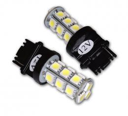 Corvette White SMD LED Light Bulb, #3157, Pair, 1997-2013