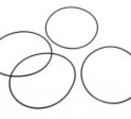 Corvette Rear Wheel Bearing Seal Set, 1958-1962