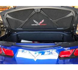 Corvette Trunk Lid Inner Liner, C7 Grand Sport, Black, 5 Piece, 2014-2019