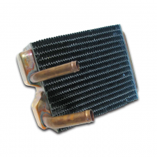 Corvette Heater Core, Without Air Conditioning, Copper/Brass Design, 1968-1979