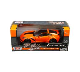 Motormax Timeless Legends 2019 C7 Corvette ZR1 1/24 Diecast   Orange