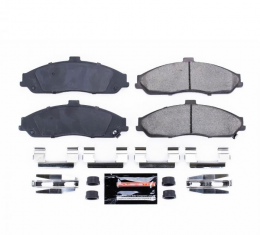 Corvette Brake Pad Kit, Z23 Evolution Sport Carbon Fiber-Ceramic with Hardware, Front, 1997-2013