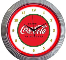 Neonetics Neon Clocks, Coca-Cola 1910 Classic Neon Clock