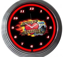 Neonetics Neon Clocks, Ford Fueled by Passion Neon Clock