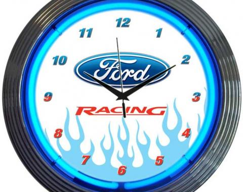 Neonetics Neon Clocks, Ford Racing Neon Clock