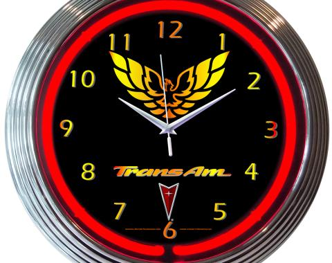Neonetics Neon Clocks, Gm Trans Am Neon Clock