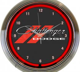 Neonetics Neon Clocks, Dodge Challenger Neon Clock
