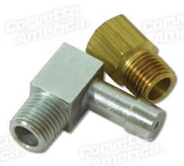 Corvette PCV Vacuum Restriction Fitting, AFB, WCFB, Fuel Injection, 1964-1965