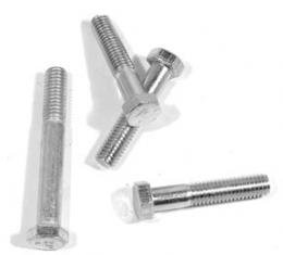 Corvette Water Pump Bolt Set, Small Block without Air Conditioning 4 Piece, 1963-1974