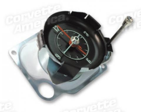 Corvette Quartz Movement Clock, 1968-1971