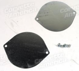 Corvette Trunk Floor Access Plates & Screws, 1961-1962