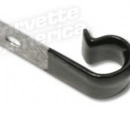 Corvette Washer Hose/Hood Cab Clip, on Frwl, 1963-1982