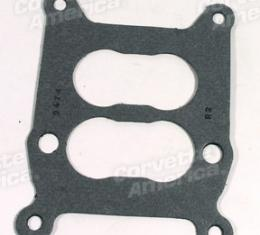 Corvette Carb Base Gasket, Holley with Alum Int, 1964-1972