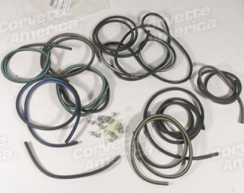 Corvette Heater/Air Conditioning Control Vacuum Hose Kit, with Air Conditioning, 1969-1970