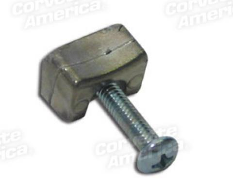 Corvette Turn Signal Housing Lock Wedge, With Screw, 1953-1963