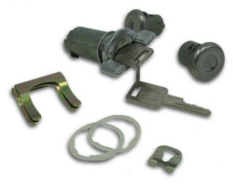 Corvette Ignition & Door Lock Set, With Keys, 1969-1978