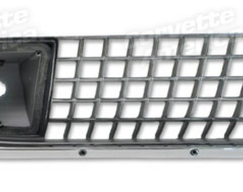 Corvette Grille, Right Outer (Oem), 1970-1972