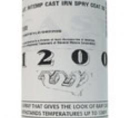 Paint, Cast Iron Spray Coat Hi-Temp