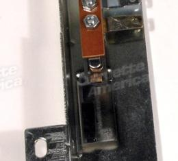 Corvette Heater & Air Conditioning Low Blower Switch, on Control, 1969-1976