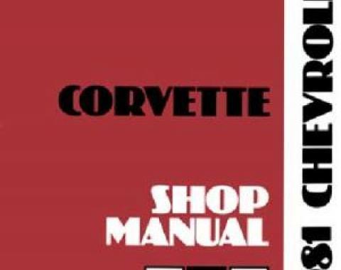 Corvette Service Manual, 1981