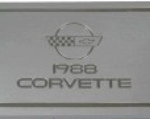 Corvette Owners Manual, 1988