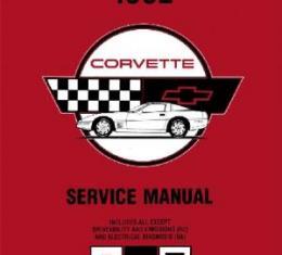 Corvette Service Manual, 1992